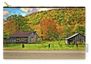 Kindred Barns Painted Carry-all Pouch by Steve Harrington