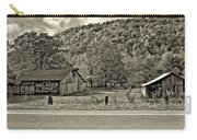 Kindred Barns Sepia Carry-all Pouch