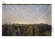 King And Queen Star Trails Carry-all Pouch