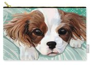 Spaniel Puppy Resting Carry-all Pouch