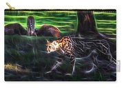 King Cheetah And 3 Cubs Carry-all Pouch
