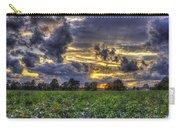 King Cotton Sunset Art Statesboro Georgia Carry-all Pouch