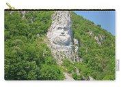 King Decebal, Rock Sculpture Carry-all Pouch