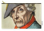 King Frederick II Of Prussia Carry-all Pouch