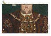 King Henry V I I I Carry-all Pouch