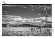 King Homestead_bw-1593 Carry-all Pouch