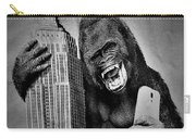 King Kong Selfie B W  Carry-all Pouch