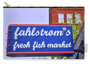 King Of Fish Fish Market  Carry-all Pouch