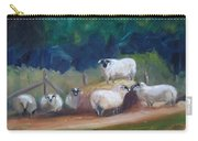 King Of Green Hill Farm Carry-all Pouch by Donna Tuten