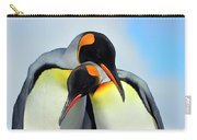 King Penguin Carry-all Pouch by Tony Beck