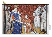 King Philip Iv Of France Carry-all Pouch