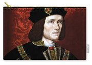 King Richard IIi Of England Carry-all Pouch