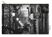 King Street At Night - Old Town Alexandria Carry-all Pouch