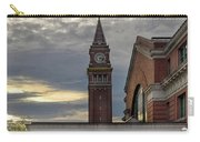 King Street Station Clock Tower Carry-all Pouch