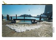 King Tide On The Boston Waterfront Boston Ma Carry-all Pouch