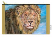 Kingdom Of The Lion Carry-all Pouch