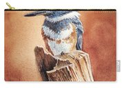 Kingfisher I Carry-all Pouch