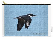 Kingfisher In Flight Carry-all Pouch