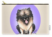 Kiniart Keeshond Carry-all Pouch