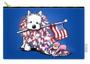 Kiniart Portrait Of Liberty Carry-all Pouch