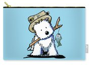 Kiniart Westie Fisherman Carry-all Pouch
