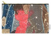 Kintoki Swims Up The Waterfall Carry-all Pouch