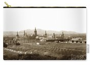 Kirkbride At Napa State Hospital In California Circa 1890 Carry-all Pouch