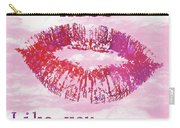 Kiss Like You Mean It Carry-all Pouch