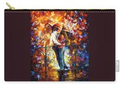 Kiss On The Bridge Carry-all Pouch