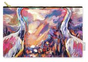 Kissing Egrets Never Forget Carry-all Pouch