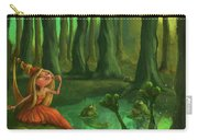 Kissing Frogs Carry-all Pouch by Andy Catling