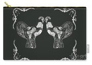 Kissing Roosters 1 Carry-all Pouch