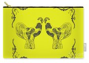 Kissing Roosters 5 Carry-all Pouch