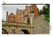 Kitchen Or Wren Bridge And St. Johns College From The Backs. Cambridge. Carry-all Pouch