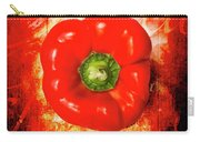 Kitchen Red Pepper Art Carry-all Pouch