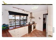 Kitchen With A River View Carry-all Pouch