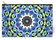 Kite Tiles Mandala Carry-all Pouch