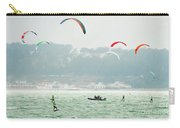 Kiteboarding In The San Francisco Bay Carry-all Pouch