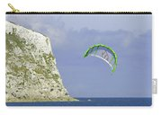 Kitesurfer At Yaverland Carry-all Pouch