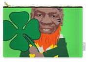Kith Me I'm Irith Funny Novelty Mike Tyson Inspired Design For St Patrick's Day Carry-all Pouch