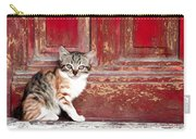 Kitten By Red Door Carry-all Pouch