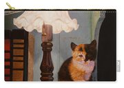 Kitten By The Lamp Carry-all Pouch
