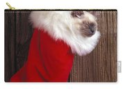 Kitten In Stocking Carry-all Pouch