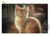 Kitten Portrait Carry-all Pouch