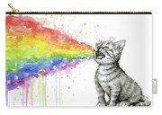 Kitten Tastes The Rainbow Carry-all Pouch
