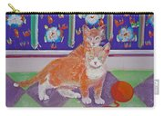 Kittens With Wild Wool Carry-all Pouch
