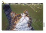 Kitty And The Dragonfly Close-up Carry-all Pouch