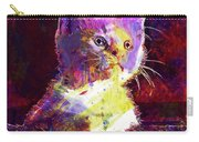 Kitty Cat Kitten Pet Animal Cute  Carry-all Pouch