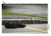 Kitty In The Street Carry-all Pouch