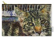 Kitty Vangoghed Carry-all Pouch